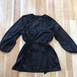 Something Navy Black Sequins dress size XS